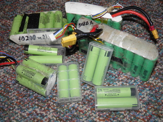 LONG RANGE 30600 MAH 9P 4S CUSTOM MADE LITHIUM ION BATTERY